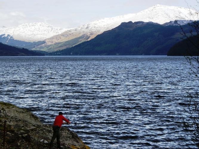 Fishing on Loch Goil