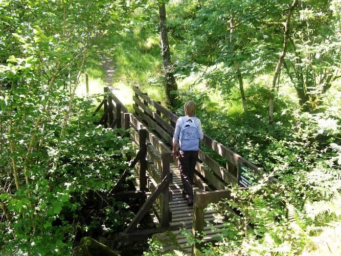 Walking around Loch Goil