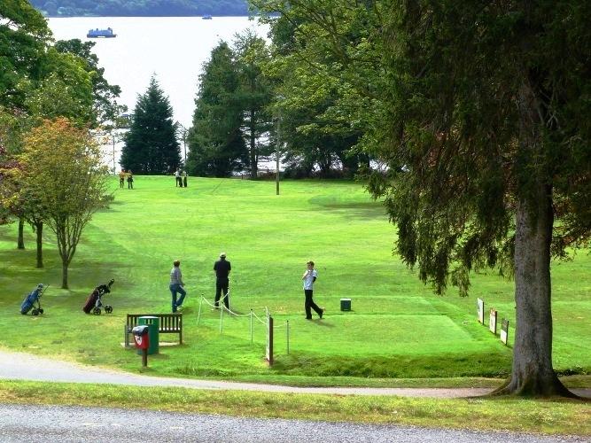 Golf Course at Lochgoilhead