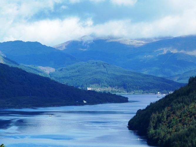 Loch Goil and Loch Long