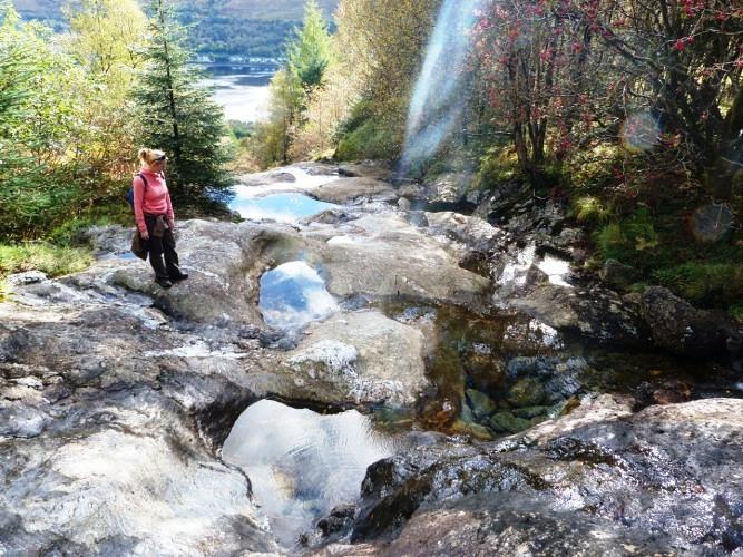 Arrochar waterfall