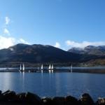 Sailing at Lochgoilhead