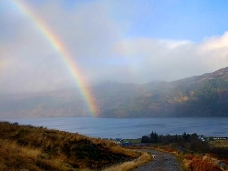 Rainbow Loch Goil